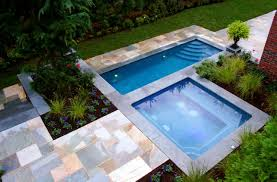 small backyard pool designs backyard patio with wooden flooring