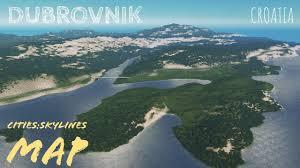 Kings Landing Croatia by Cities Skylines Real Life Kings Landing Dubrovnik Map Preview