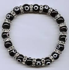 swarovski evil eye bracelet images Evil eye beaded bracelets swarovski crystals JPG