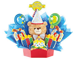 birthday bears delivered build a bouquets teddy delivery cookies by design
