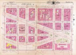 washington dc 1909 13th to 7th st pennsylvania ave nw maps