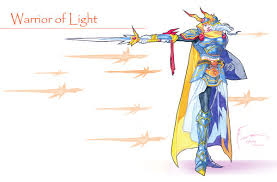 Warrior Of Light Warrior Of Light By Nick Ian On Deviantart