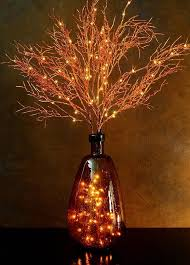 led string light vine copper wire lights branch silver string