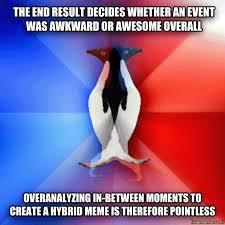 Socially Awkward Penguin Meme Generator - livememe com socially ambivalent penguin