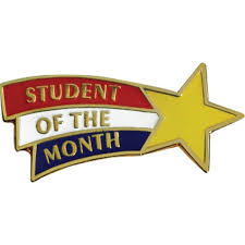 of the month student of the month lapel pins elementary s