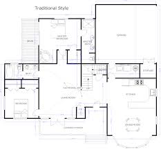 traditional house plans with detached garage