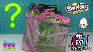dollar tree haul shopkins high whack a pack more