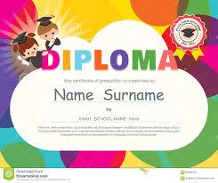 preschool diploma preschool diploma stock illustration illustration of learn 41039726