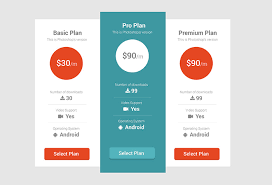 tabellen design 25 creative pricing table designs for inspiration hongkiat