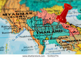 map of thailand thailand map city stock images royalty free images vectors
