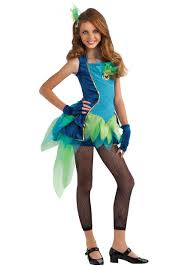 halloween animal costume ideas peacock tween girls u0027 costume girls u0027 animal costume ideas