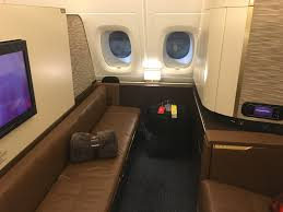 Etihad A380 The Residence Etihad First Class Apartment Etihad First Class Review Abu