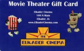 half gift cards elkader cinema elkader ia gift cards