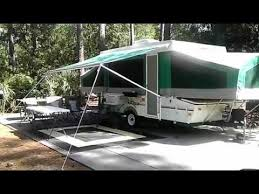 Bag Awning For Pop Up Camper Video Tour Of Our Coachman Clipper Pop Up Camper Youtube