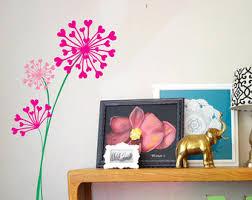 free shipping dandelions wall decal nursery flower vinyl