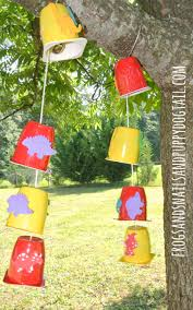 yogurt cup wind chimes fspdt