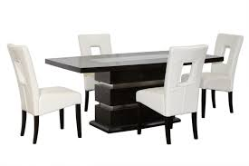 Black White Dining Chairs Black And White Dining Room Set Centralazdining