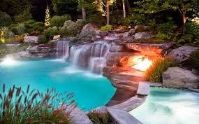pools with waterfalls 15 pool waterfalls ideas for your outdoor space home design lover