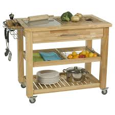 Kitchen Island And Carts by Chris U0026amp Chris Pro Chef 24 X 40 Food Prep Station Natural