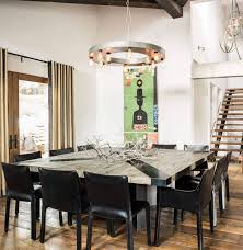 7 Foot Kitchen Island Casual Ski Retreat Featuring A Fun And Personal Design