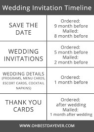 wedding invitations timeline wedding invitation timeline tips wedding weddingtips