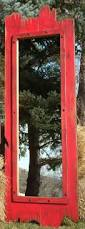 red barn home decor 60x22 full length red barn wood mirror great for any dressing