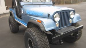 renegade jeep cj7 impressive build 1985 amc jeep cj7 renegade 4x4 sold pt