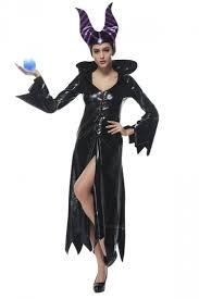 maleficent costume womens zigzag bell sleeve maleficent costume dress black