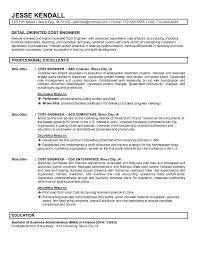 Best Engineering Resume Template Exle Cost Engineer Resume Free Sle