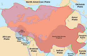 Map Of Europe And Asia by Eurasian Plate Wikipedia