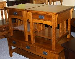 solid cherry wood end tables mission coffee table cherry mission style handcrafted by mennonites