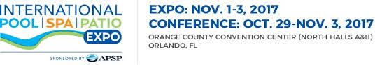 Orange County Convention Center Floor Plan International Pool Spa Patio Expo Nov 1 3 2017 In Orlando Fl Usa
