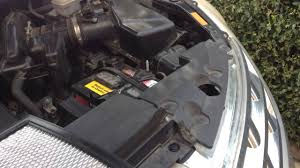 nissan murano 2004 youtube 2004 nissan murano air filter replacement diy how to youtube