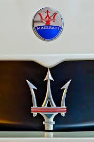 2005 maserati mc12 emblem photograph by reger