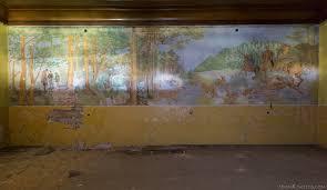 explore 181 hunter s castle aka pa ac my liwski w mojej woli mural hunting scene woodland hunter s castle moja wola pa ac my liwski w mojej woli urbex poland adam