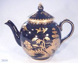 willow pattern jam pot booths antique black and gold willow pattern vintage silicon china