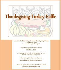 meyer levin parent association thanksgiving turkey raffle