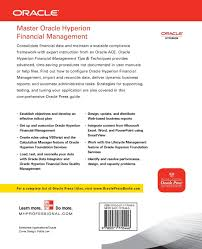 oracle hyperion financial management tips and techniques design