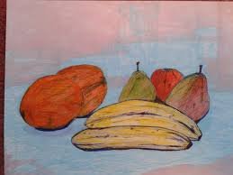 how to draw still life fruit drawing fruit and vegetables in