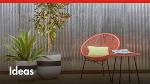 Feature Wall by D I Y Corrugated Iron Feature Wall D I Y At Bunnings Youtube