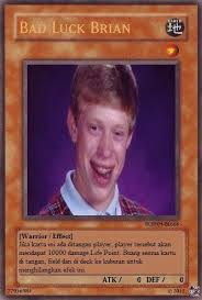 Make Bad Luck Brian Meme - meme anime indonesia on twitter bad luck brian card http t co