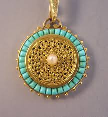 white gold turquoise necklace images Collectsvictturquoise jpg