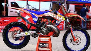 2015 ktm motocross bikes inside cody webb u0027s factory rpm ktm 300 xc 2 stroke bikes of