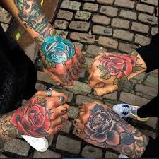 i u0027ve got a rose on my hand as well tattoos pinterest roses