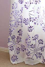 143 best floral stencil patterns images on pinterest wall a stunning diy curtain idea using the parsley blooms stencil from cutting edge stencils http