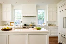 would you rather old fashion homey kitchen white bright and