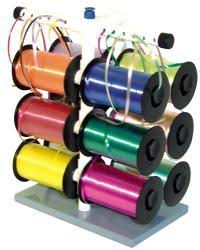 ribbon dispenser curling ribbon dispenser with 12 hooks organization