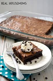triple chocolate gooey cake real housemoms