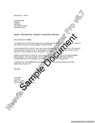 resignation letter moving to another company u2013 lawyer com au
