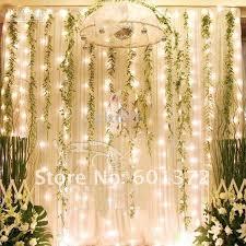 3 3m led curtain light wedding hotel decoration led